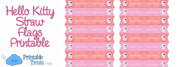 free-hello-kitty-straw-flags-printable