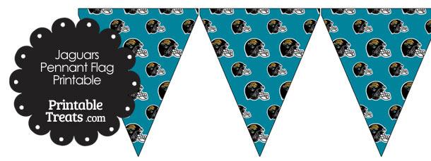 Jacksonville Jaguars Football Helmet Pennant Banners