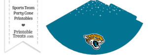 Jaguars Party Cone Printable