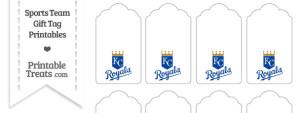 Kansas City Royals Gift Tags