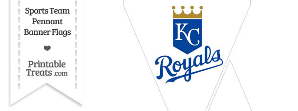 Kansas City Royals Mini Pennant Banner Flags