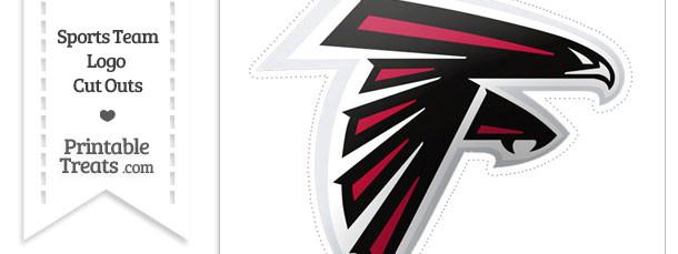 Large Atlanta Falcons Logo Cut Out