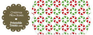 Large Christmas Wreath Pillow Box