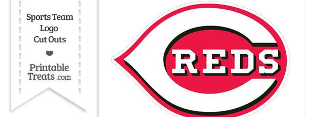 Large Cincinnati Reds Logo Cut Out