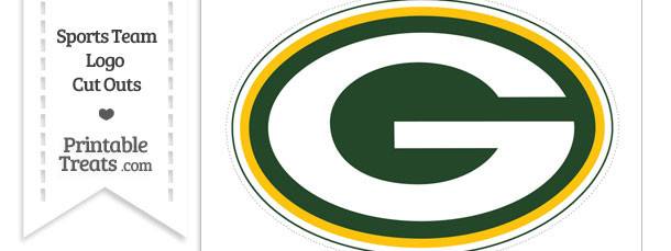 Large Green Bay Packers Logo Cut Out
