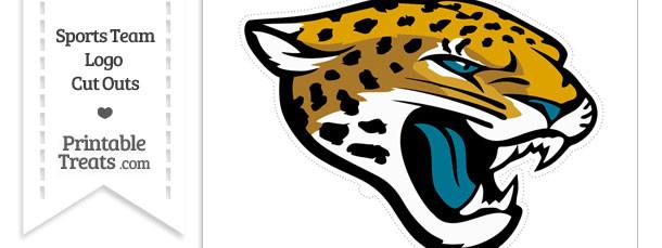 Large Jacksonville Jaguars Logo Cut Out