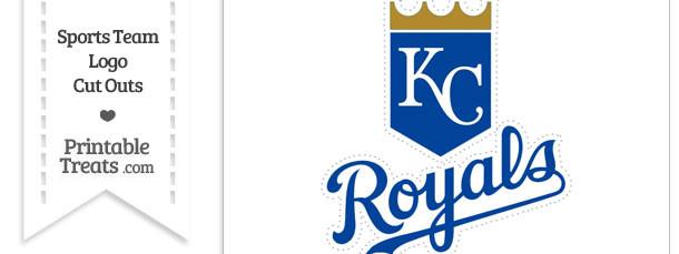 Large Kansas City Royals Logo Cut Out Printable Treats Com