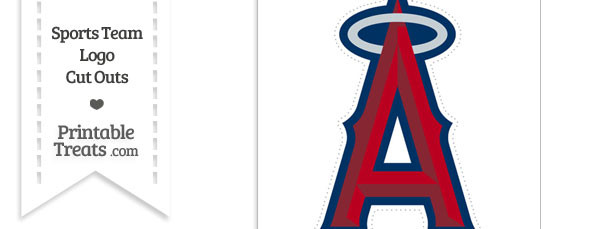 Large Los Angeles Angels Logo Cut Out