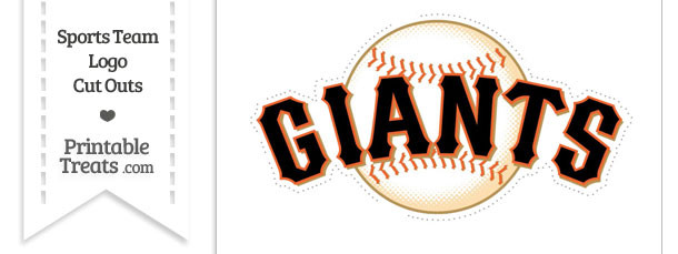 Large San Francisco Giants Logo Cut Out
