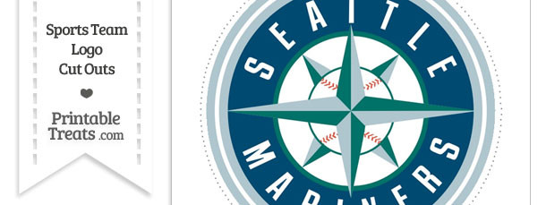 Large Seattle Mariners Logo Cut Out
