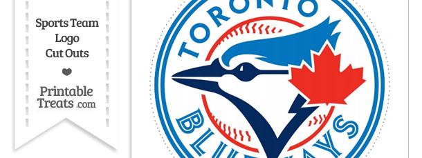 Large Toronto Blue Jays Logo Cut Out
