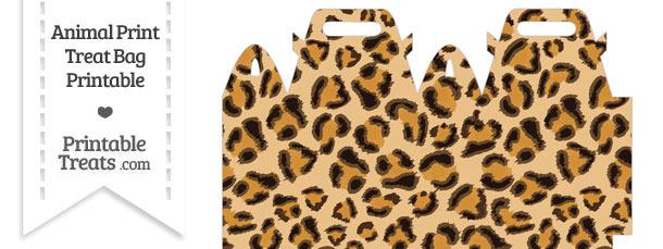Leopard Print Treat Bag