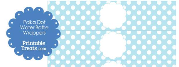 free-light-blue-polka-dot-water-bottle-wrappers
