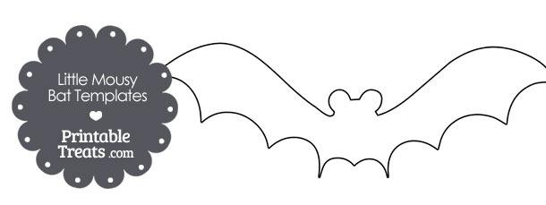 Little Mousy Bat Templates
