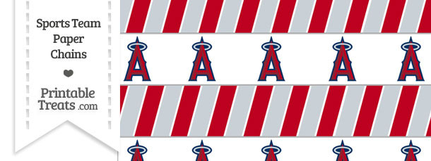 Los Angeles Angels Paper Chains