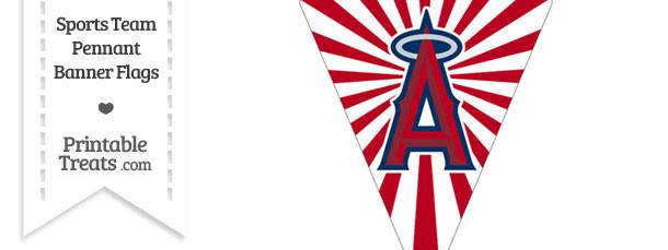 Los Angeles Angels Pennant Banner Flag