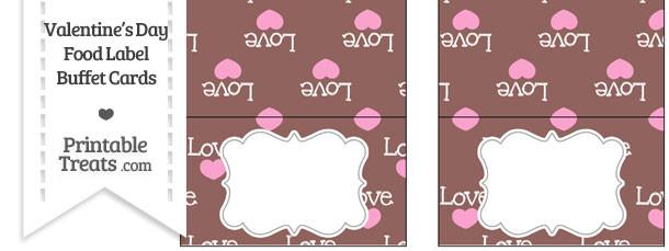 Love Food Labels
