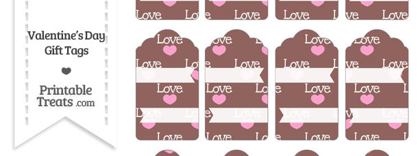 Love Gift Tags