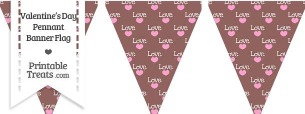 Love Pennant Banner Flag
