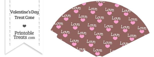 Love Treat Cone
