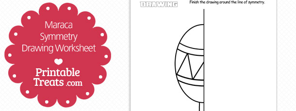 free-maraca-symmetry-drawing-worksheet