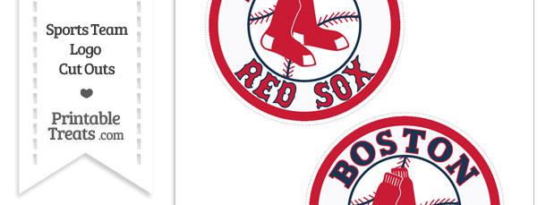 Medium Boston Red Sox Logo Cut Outs