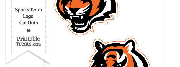 Medium Cincinnati Bengals Logo Cut Outs