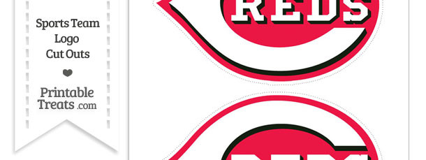 Medium Cincinnati Reds Logo Cut Outs