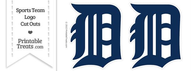 Medium Detroit Tigers Logo Cut Outs