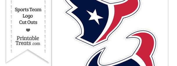 Medium Houston Texans Logo Cut Outs
