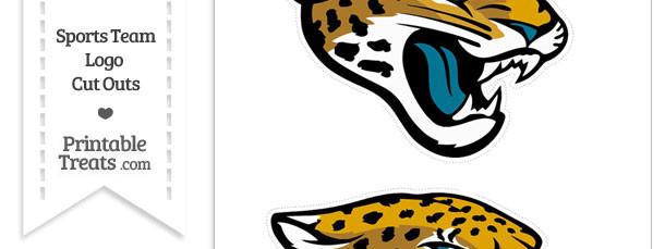 Medium Jacksonville Jaguars Logo Cut Outs