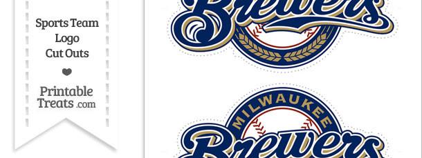 Medium Milwaukee Brewers Logo Cut Outs