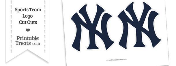 Medium New York Yankees Logo Cut Outs