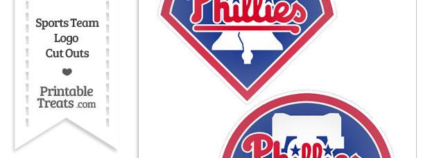 Medium Philadelphia Phillies Logo Cut Outs