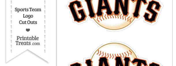 Medium San Francisco Giants Logo Cut Outs