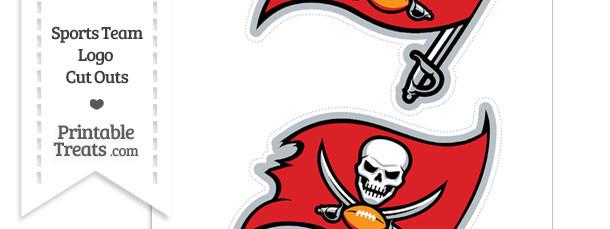 Medium Tampa Bay Buccaneers Logo Cut Outs