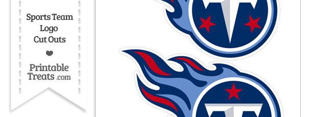 Medium Tennessee Titans Logo Cut Outs