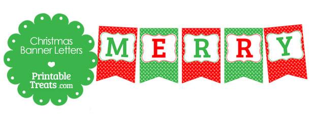 free-merry-christmas-polka-dot-banner-letters