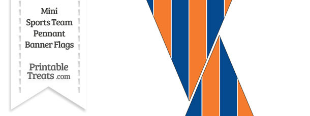 Mets Colors Mini Pennant Banner Flags