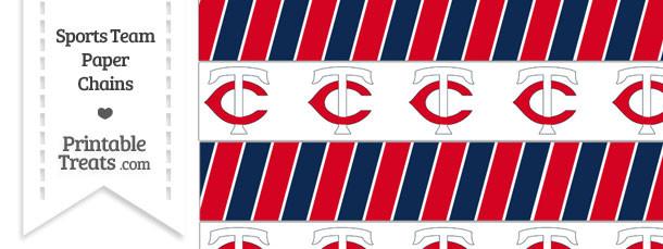 Minnesota Twins Paper Chains