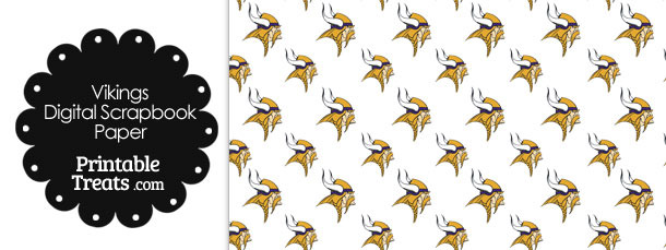 Minnesota Vikings Logo Digital Paper
