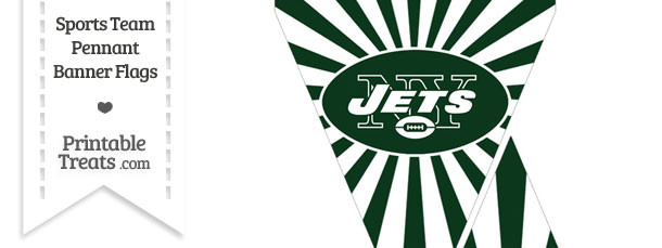 New York Jets Mini Pennant Banner Flags
