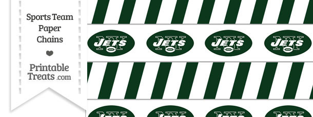 New York Jets Paper Chains