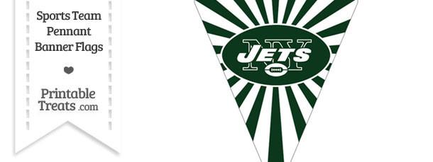 New York Jets Pennant Banner Flag