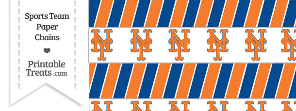 New York Mets Paper Chains