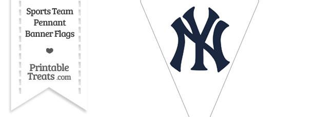 New York Yankees Pennant Banner Flag