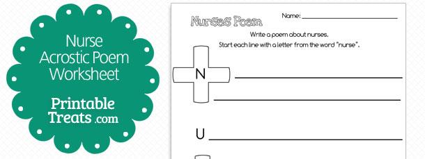 free-nurse-job-acrostic-poem
