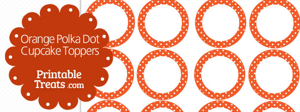 free-orange-polka-dot-cupcake-toppers