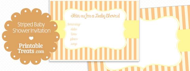 free-orange-striped-baby-shower-invitation