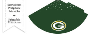 Packers Party Cone Printable